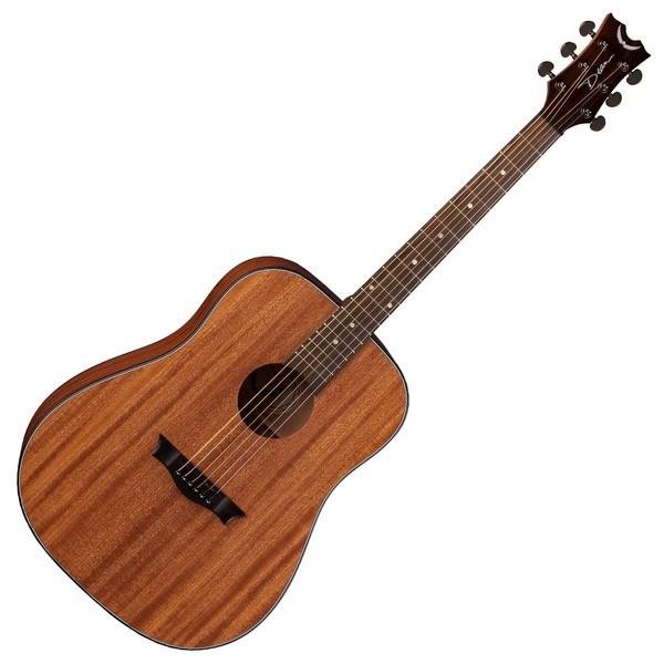 Dean AXS Dreadnought Mahogany Acoustic Guitar, Satin Natural Front View