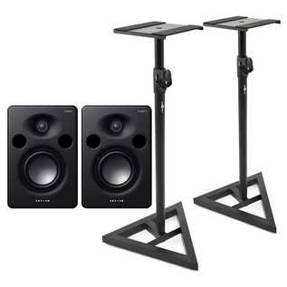 Alesis M1 MKIII Active Studio Monitor With Stands - Bundle