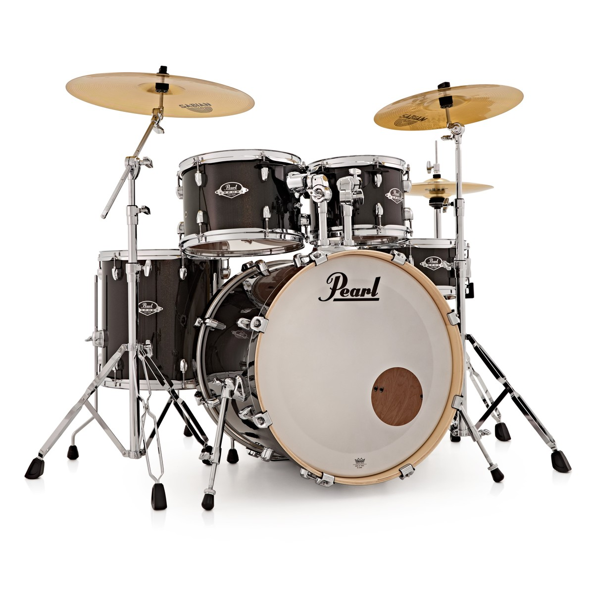 pearl export exx 20 39 39 fusion drum kit black gold sparkle box opened at gear4music. Black Bedroom Furniture Sets. Home Design Ideas