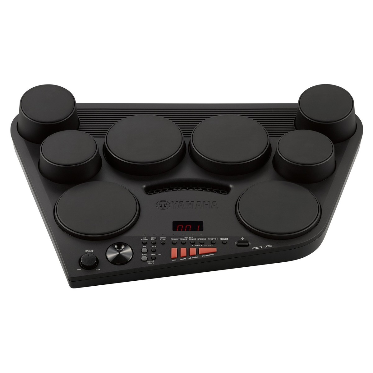 yamaha dd 75 electronic drum pad kit box opened at gear4music. Black Bedroom Furniture Sets. Home Design Ideas