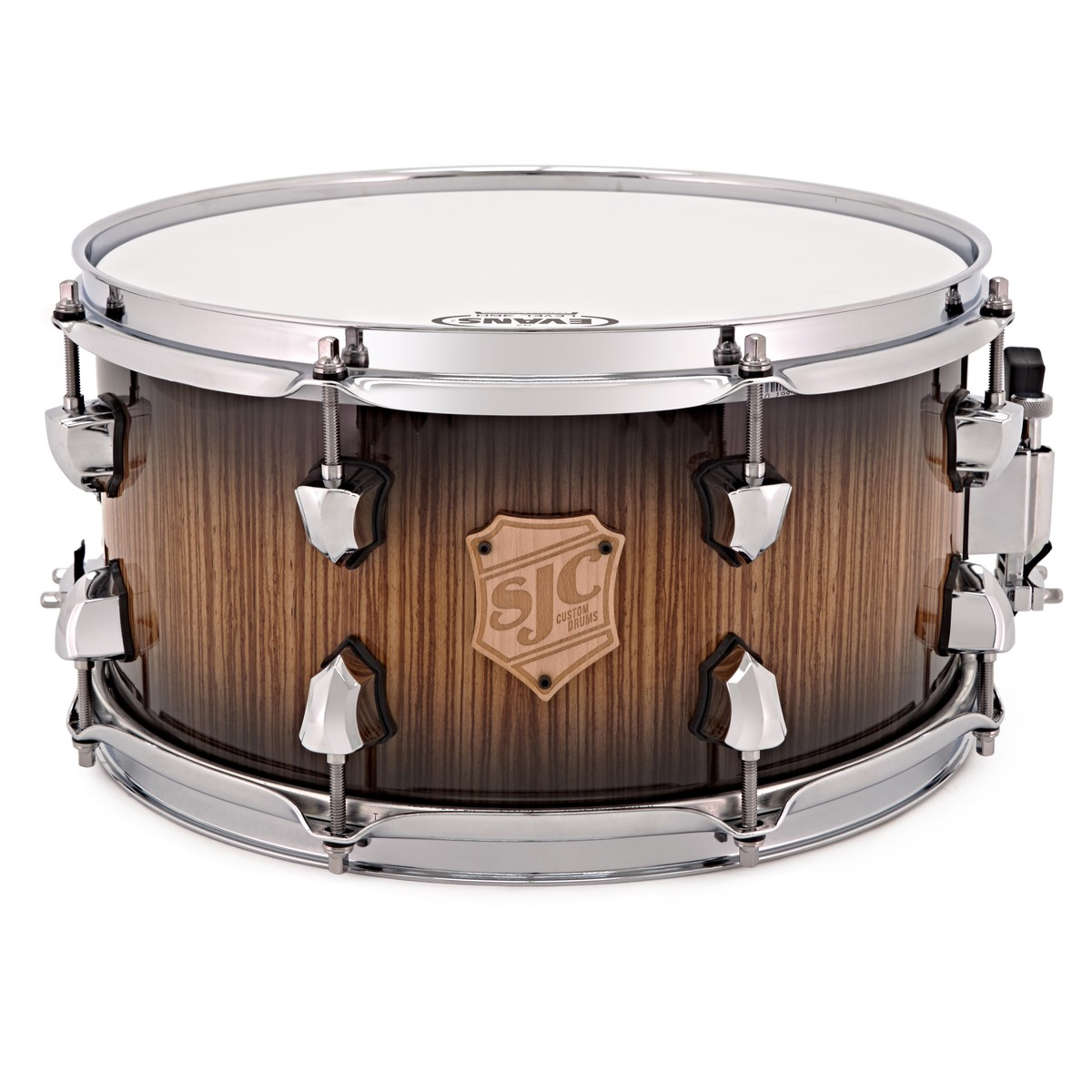 SJC Drums 13\'\' x 7\'\' Custom Snare Drum, Zebra Wood Outer Ply bei ...