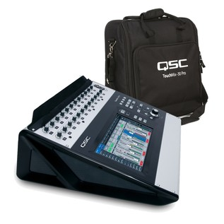 QSC Touchmix 30 Pro with Free Tote Bag and Tablet Stand