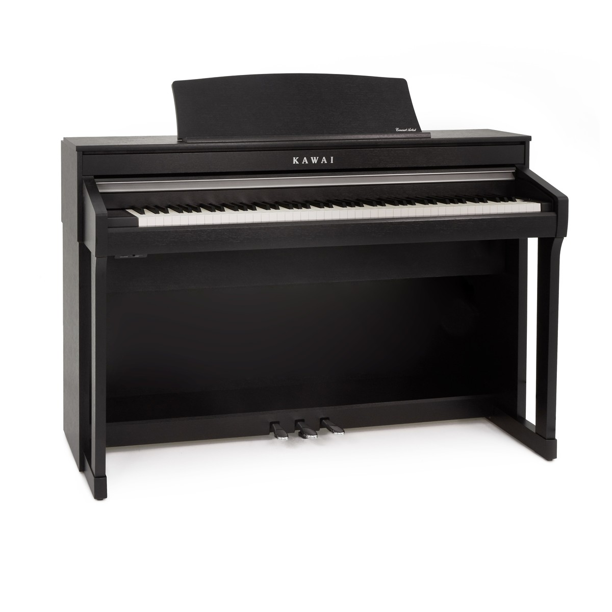 kawai ca78 digital piano satin black at gear4music. Black Bedroom Furniture Sets. Home Design Ideas