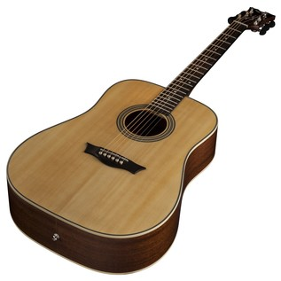 Dean St. Augustine Solid Top Dreadnought Acoustic, Gloss Natural Slanted View