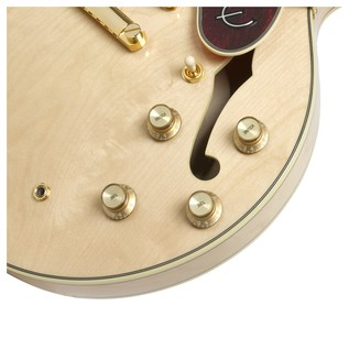 Epiphone Sheraton II Pro Electric Guitar, Natural Corner