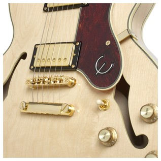 Epiphone Sheraton II Pro Electric Guitar, Natural Clse