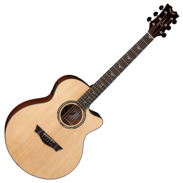 Dean Performer Plus Electro-Acoustic, Gloss Natural Front View