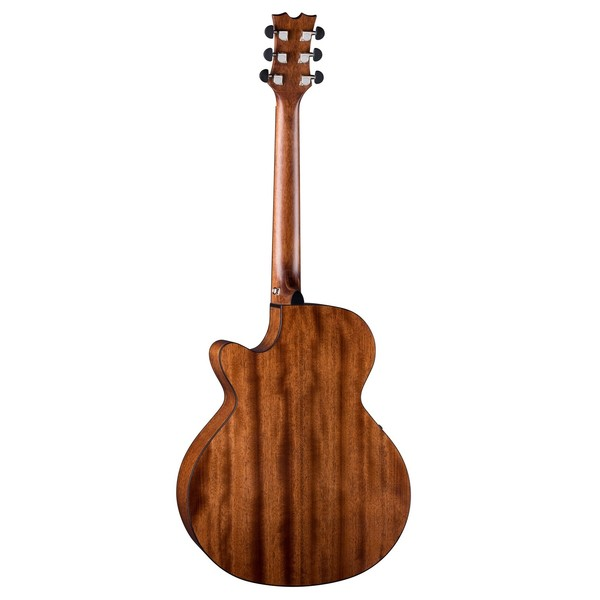 Dean Performer Plus Electro-Acoustic, Gloss Natural Back View