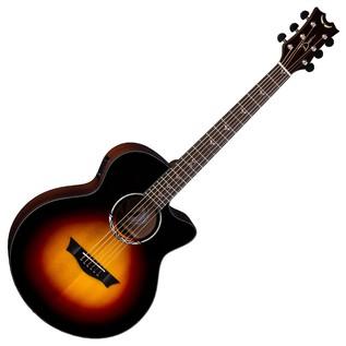 Dean Performer Plus Electro-Acoustic, Tobacco Sunburst Front View