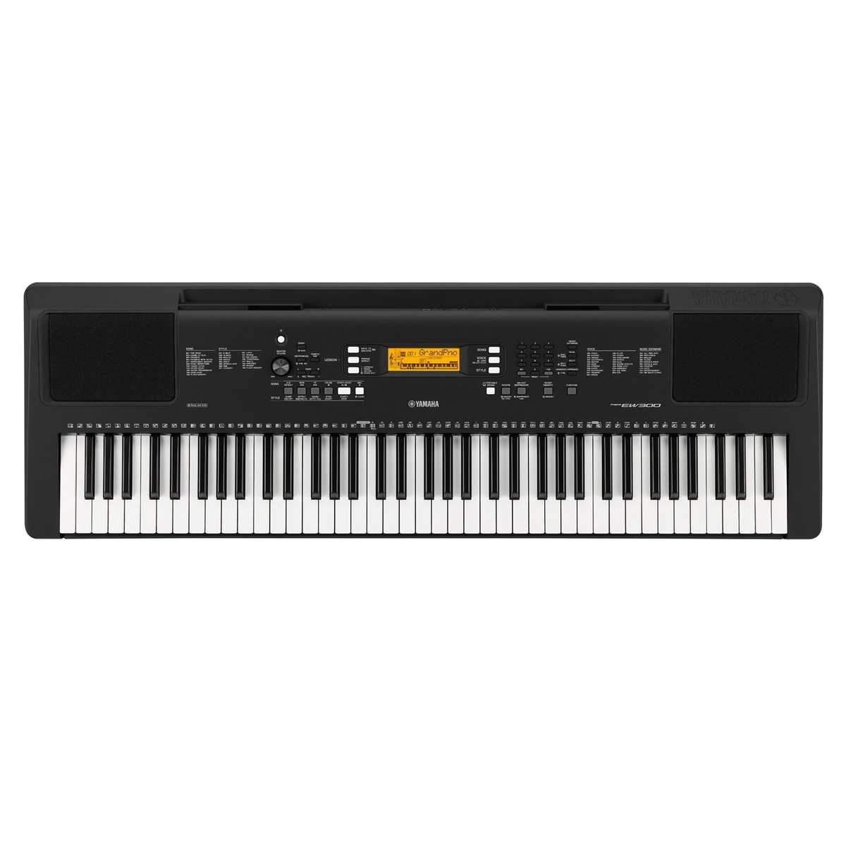 yamaha psr ew300 portable keyboard b stock at. Black Bedroom Furniture Sets. Home Design Ideas