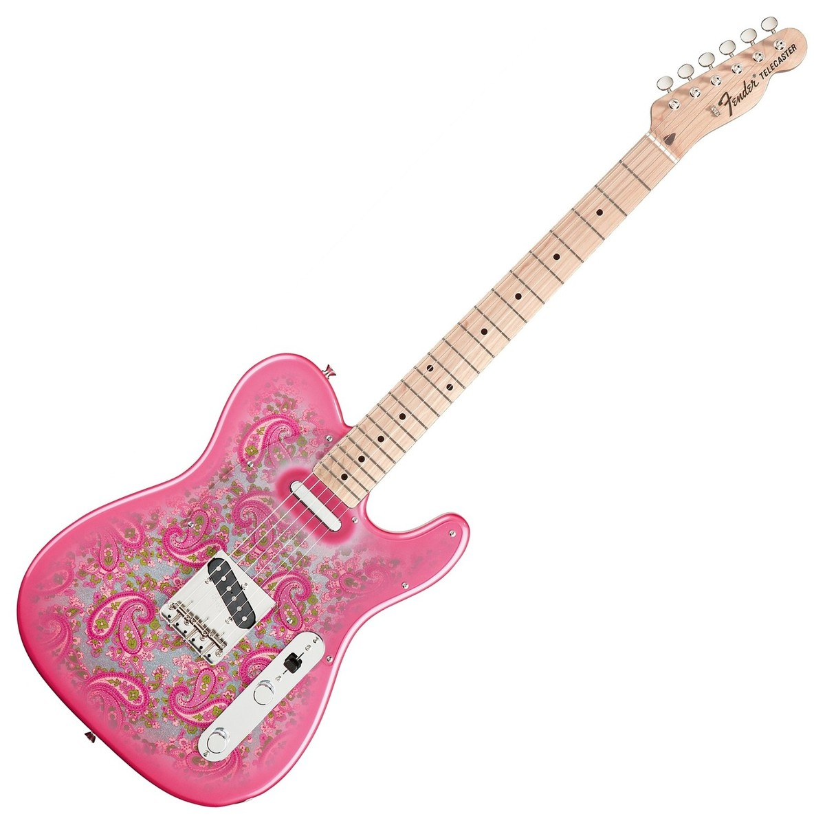fender fsr classic 69 telecaster pink paisley at. Black Bedroom Furniture Sets. Home Design Ideas