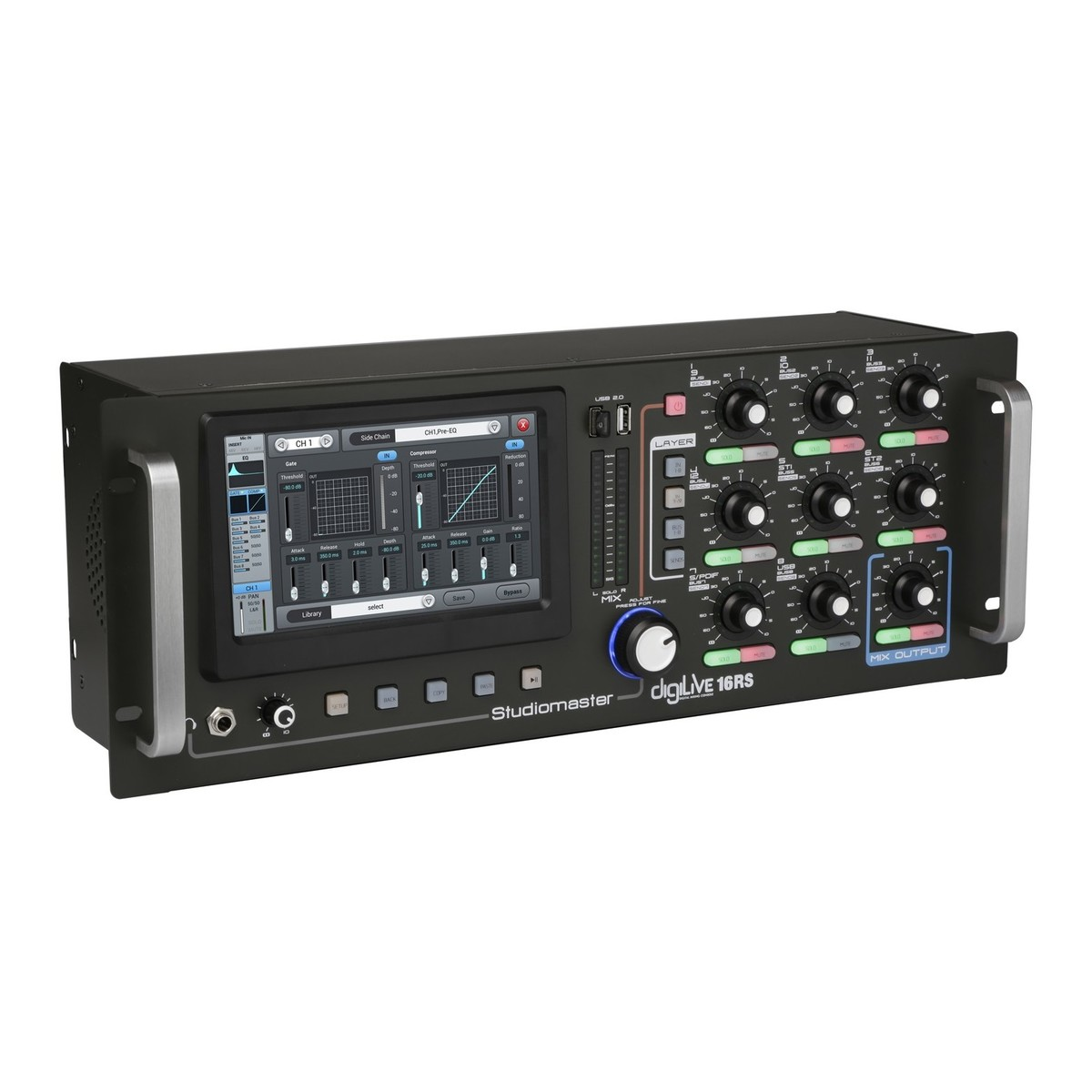 Studiomaster Digilive 16rs Digital Rack Mixer At Gear4music