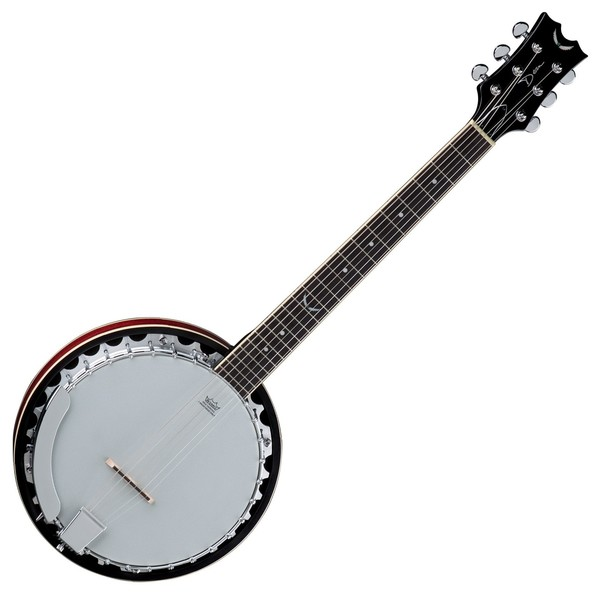 Dean Backwoods 6 Banjo, Six String Front View