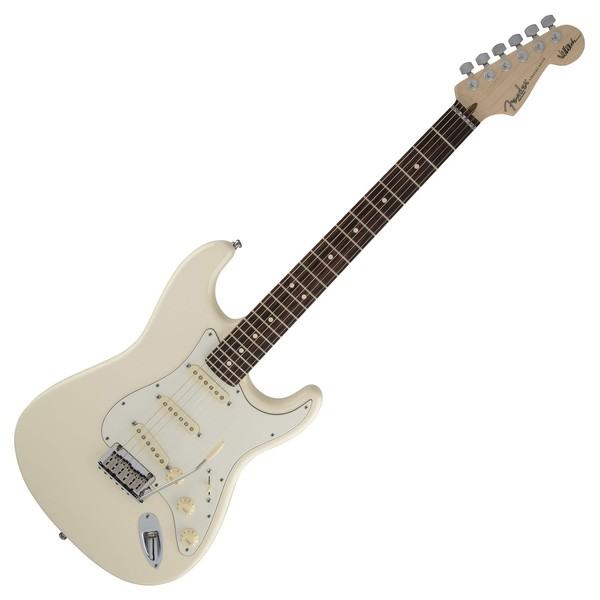 Fender Jeff Beck Stratocaster, Olympic White