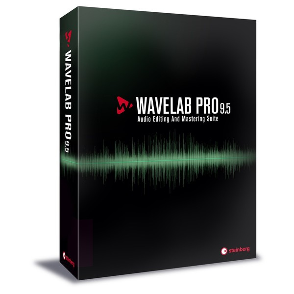 Steinberg Wavelab Pro 9.5 - Main