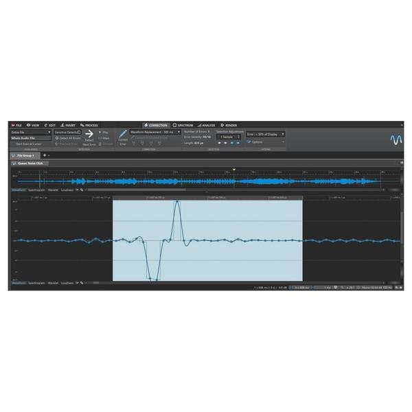 Steinberg Wavelab Elements 9.5 - Error Correction