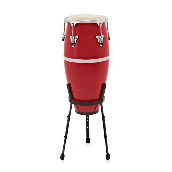"""Fibreglass 10"""" Conga with Stand by Gear4music"""