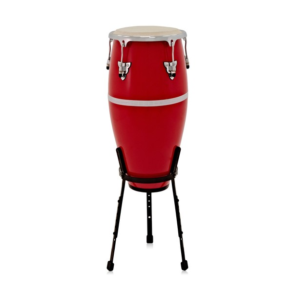 """Fibreglass 11"""" Conga with Stand by Gear4music"""