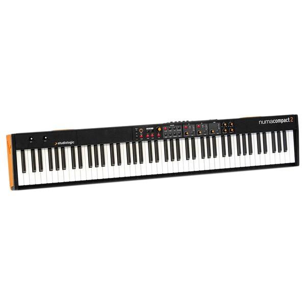 Studiologic Numa Compact 2 MIDI Keyboard - Angled