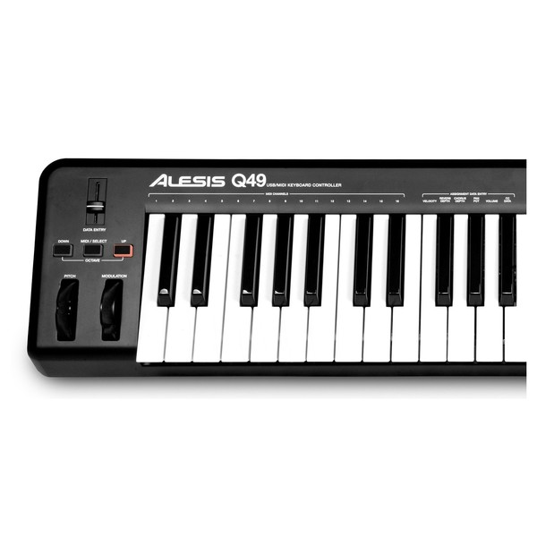 Alesis Q49 close up left