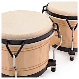 "Bongos 6"" + 7"" Set by Gear4music"