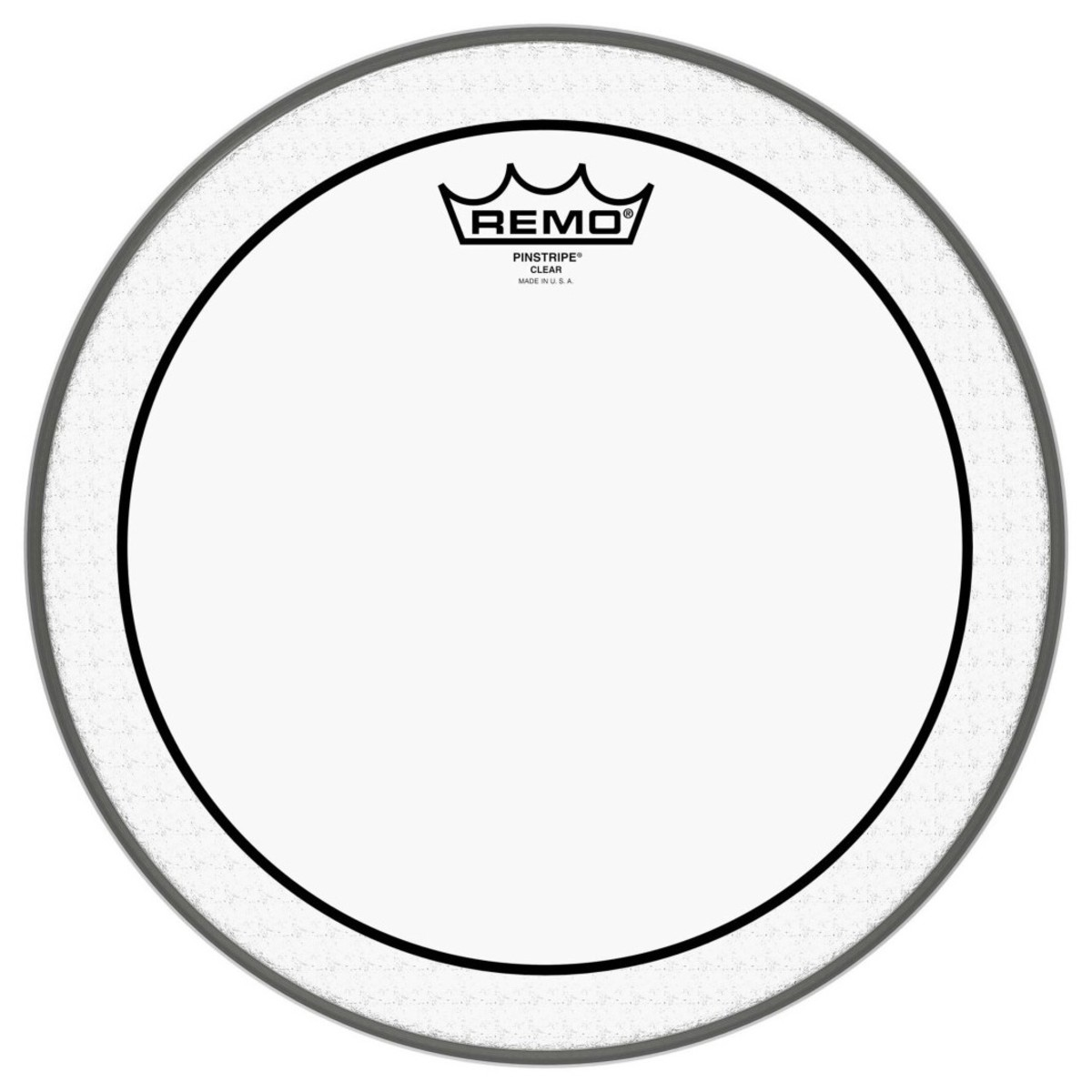 Click to view product details and reviews for Remo Pinstripe Clear 24 Bass Drum Head.