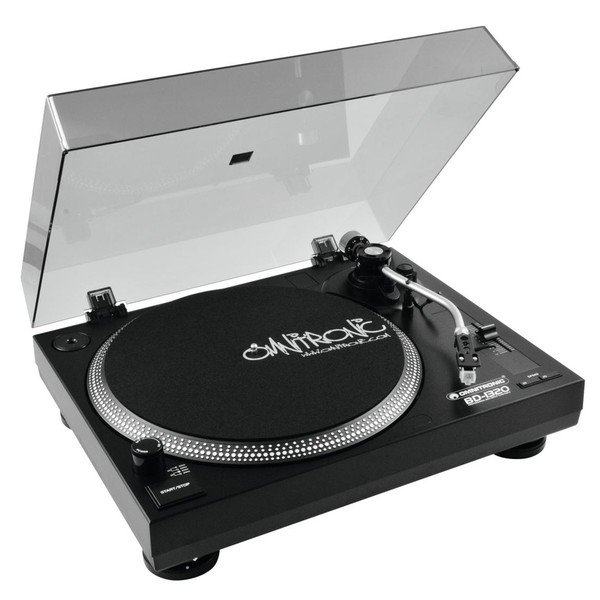Omnitronic BD-1320 Turntable, Black