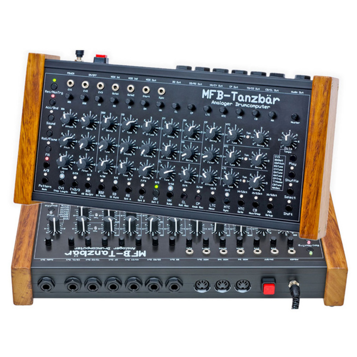 mfb tanzbar analog drum machine box opened at gear4music. Black Bedroom Furniture Sets. Home Design Ideas