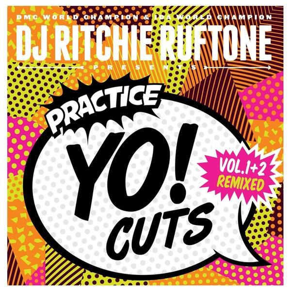 TTW Records Practice YO! Cuts 7inch, Vol. 1 + 2 Remixed, White Vinyl - Front