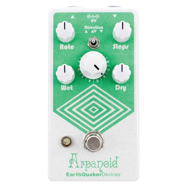 EarthQuaker Devices Arpanoid V2 Polyphonic Pitch Arpeggiator top view