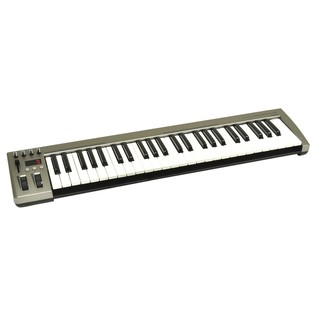 Acorn Instruments MasterKey 49 Key USB MIDI Keyboard - Angled
