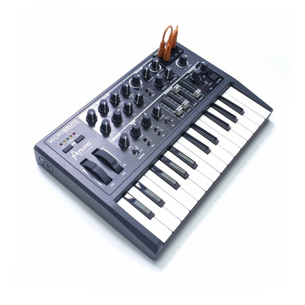 Arturia MicroBrute Semi Modular Analog Synth - Top