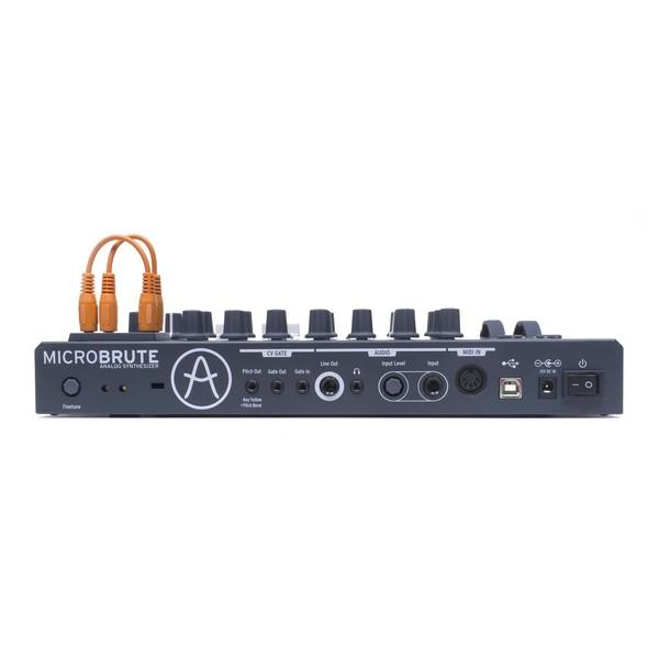 Arturia MicroBrute Semi Modular Analog Synth - Rear