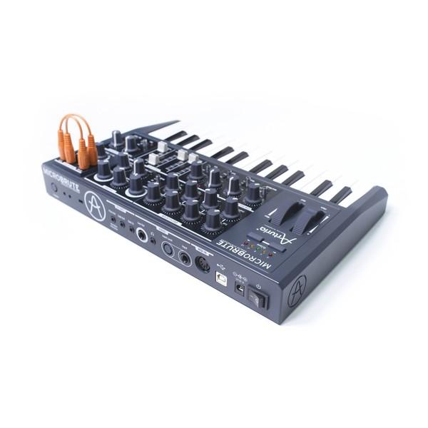 Arturia MicroBrute Semi Modular Analog Synth - Back Angle