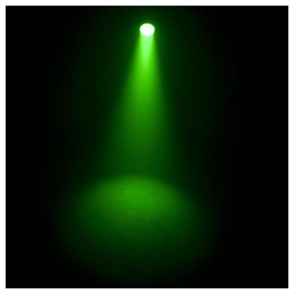 Chauvet SlimPAR 64 RGBA LED Par Can Green