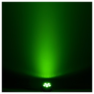 Chauvet SlimPAR H6 USB LED Par Can Green