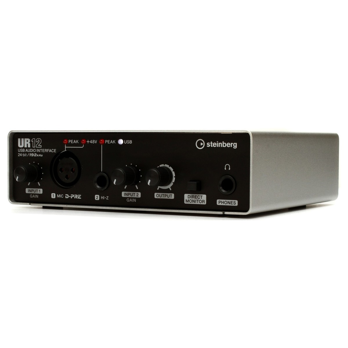 steinberg ur 12 usb audio interface ios ready box opened at gear4music. Black Bedroom Furniture Sets. Home Design Ideas