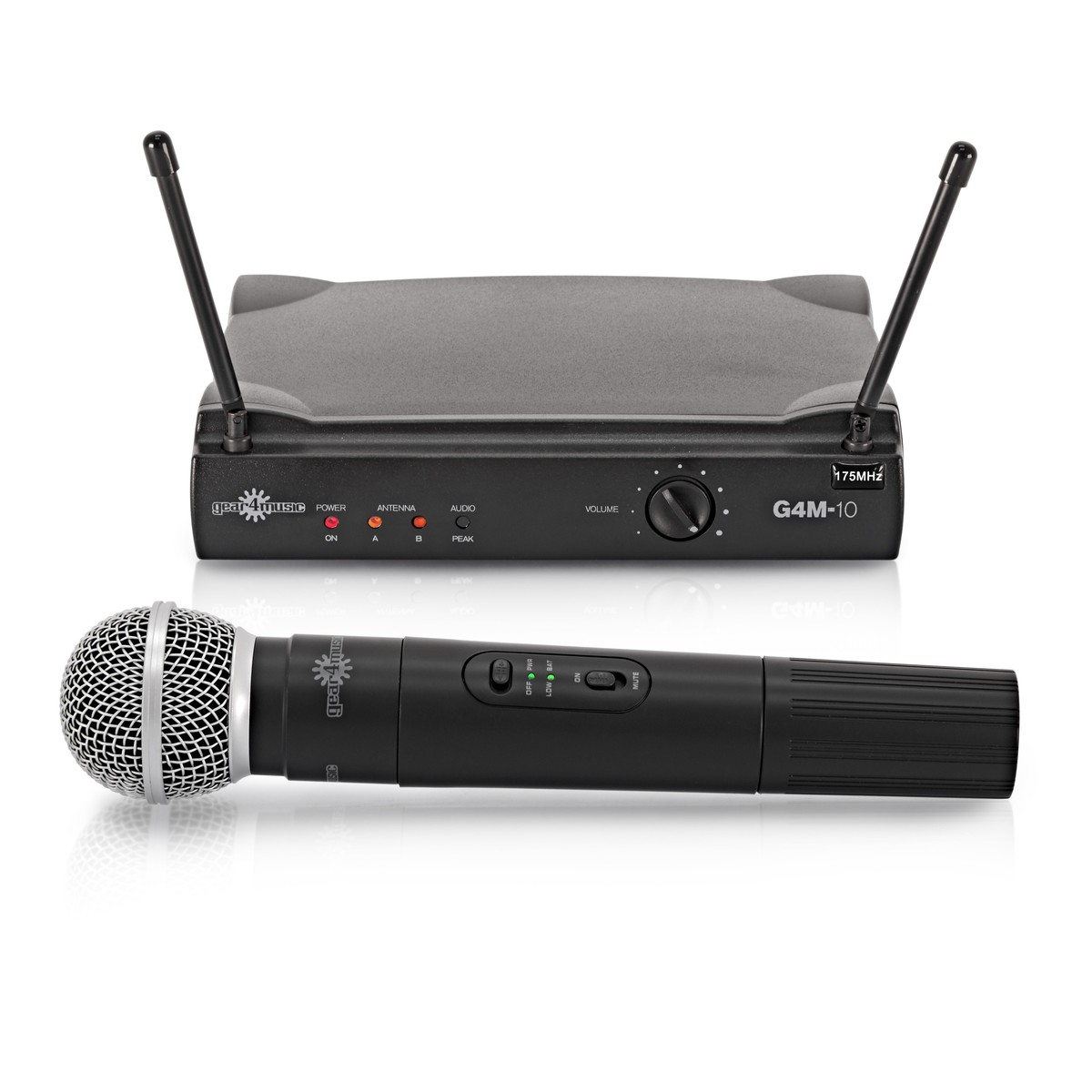 single handheld wireless microphone system by gear4music b stock at gear4music. Black Bedroom Furniture Sets. Home Design Ideas