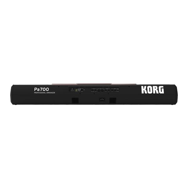 Korg Pa700 Professional Arranger Rear