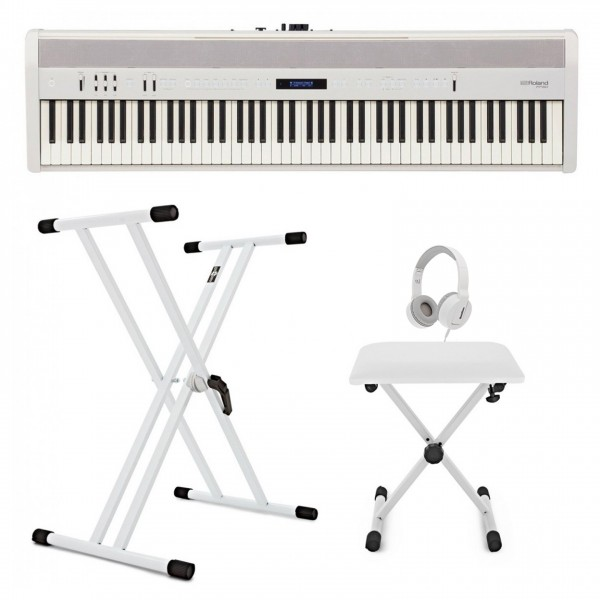Roland FP 60 Digital Piano, White Package