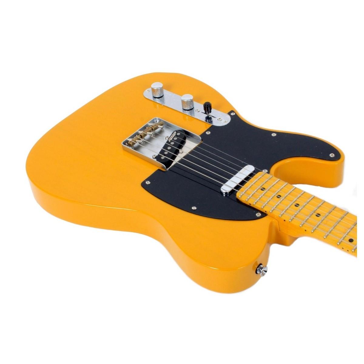 vintage r dit v52 gaucher guitare electrique caramel au beurre b stock. Black Bedroom Furniture Sets. Home Design Ideas