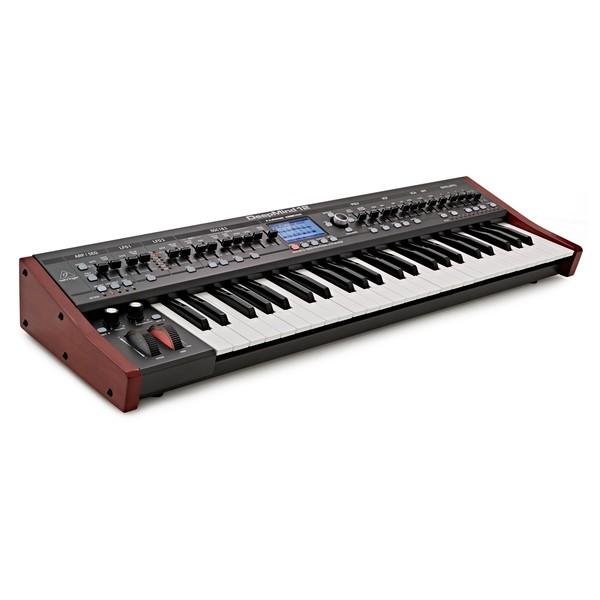 Behringer DeepMind 12 Synthesizer - Angled