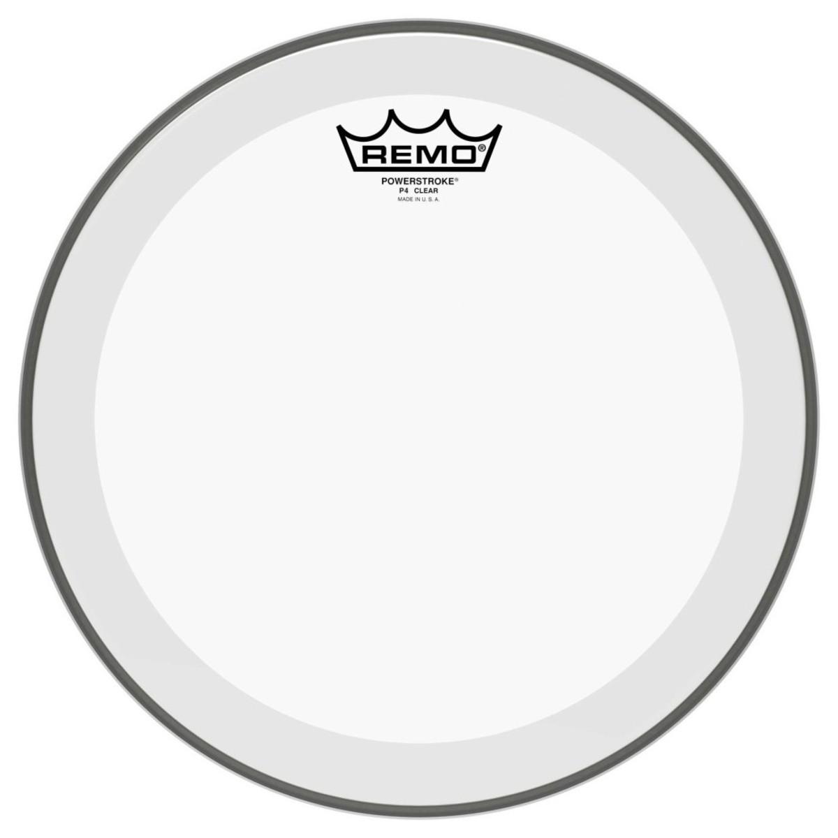 Remo Powerstroke 4 Clear 16 Drum Head