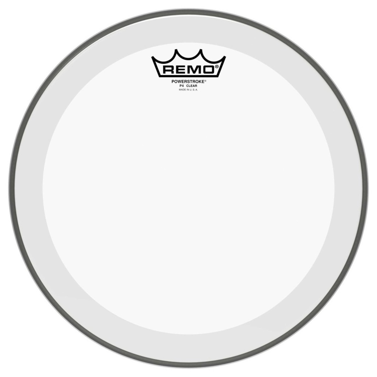 Remo Powerstroke 4 Clear 18 Drum Head