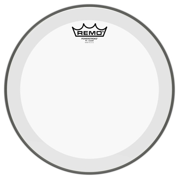Remo Powerstroke 4 Clear 18'' Drum Head