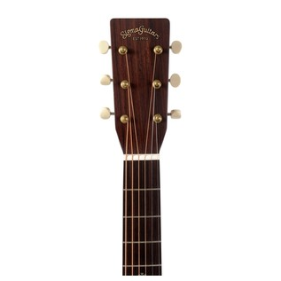 Sigma S000M-15 Electro Acoustic Guitar, Natural headstock