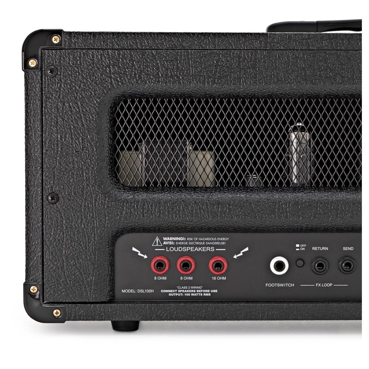 Marshall DSL100H Valve Guitar Head at Gear4music