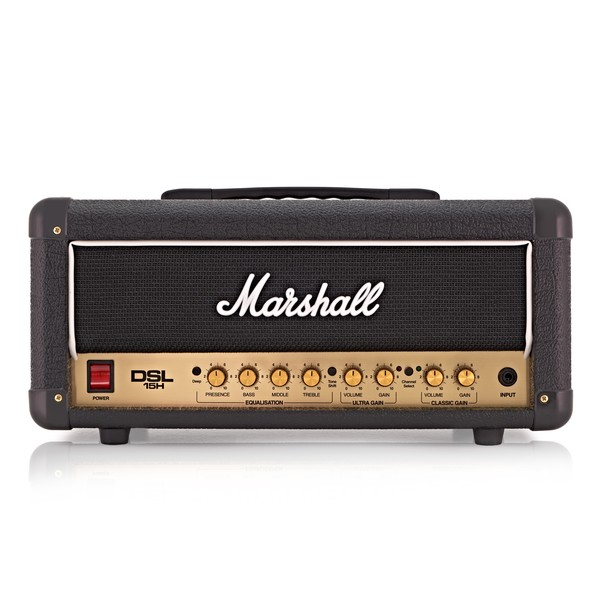 Marshall DSL15H DSL Series 15W Guitar Amp Head
