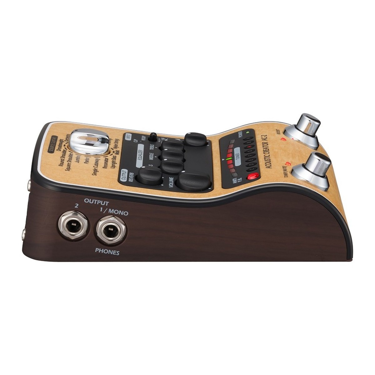 zoom ac 2 acoustic creator pedal at gear4music. Black Bedroom Furniture Sets. Home Design Ideas