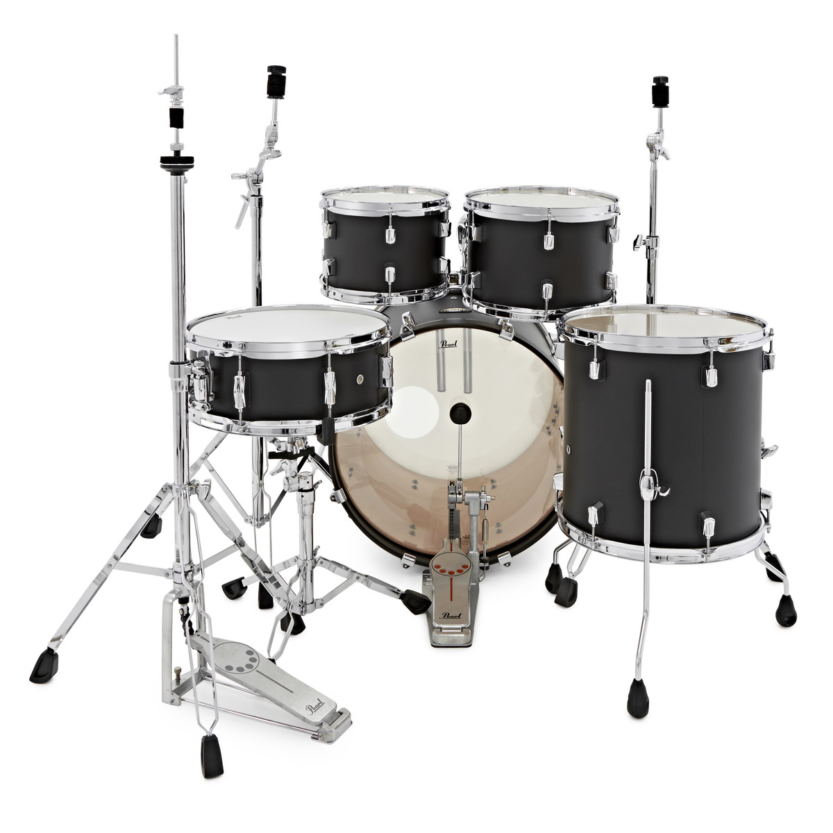 pearl decade maple 20 39 39 fusion w hardware pack slate black ex demo at gear4music. Black Bedroom Furniture Sets. Home Design Ideas